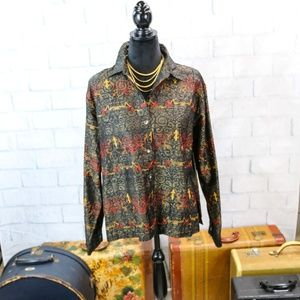 Chico's Design Embroidered Jacket
